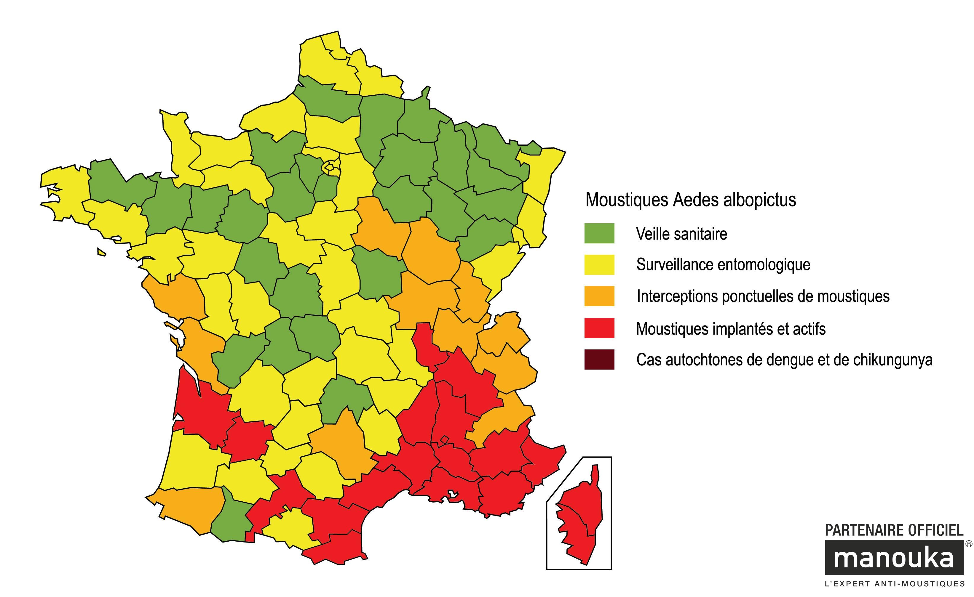 Vendée : vigilance orange contre le moustique tigre - Vigilance - Moustiques