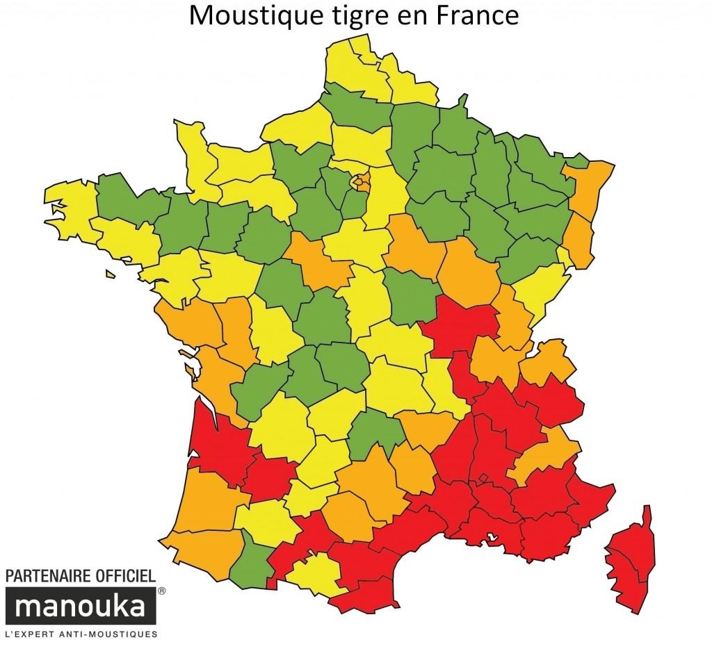 Carte Aedes Albopictus 2015 au 23.06.2015