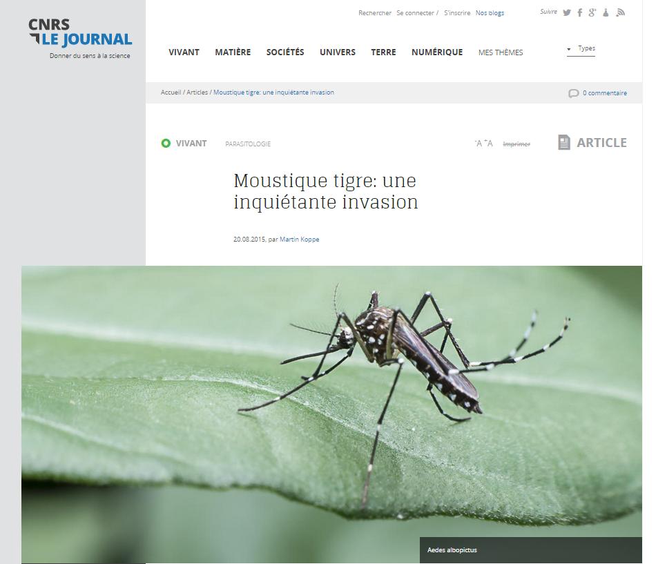 Crédit site web du CNRS