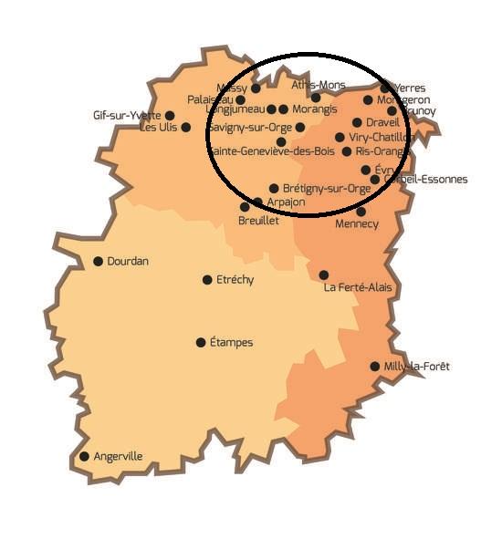 vigilance-moustiques : Carte Essonne Prolifération inhabituelle